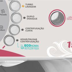 IMAGEM 3: LAVADORA DE ROUPAS COLORMAQ LCA12 - 11,5KG - FÁCIL PROGRAMAÇÃO - BRANCA