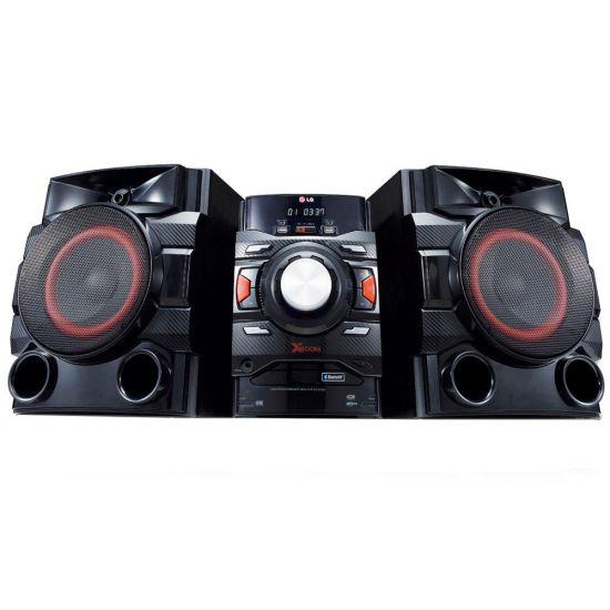 MINI SYSTEM LG CM4650 - 560W RMS - MULTI BLUETOOTH - LG MUSIC FLOW - DUAL USB - PRETO