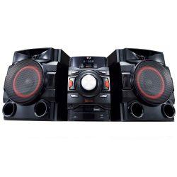 IMAGEM 1: MINI SYSTEM LG CM4650 - 560W RMS - MULTI BLUETOOTH - LG MUSIC FLOW - DUAL USB - PRETO