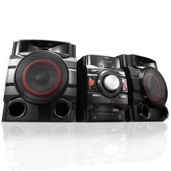 IMAGEM 2: MINI SYSTEM LG CM4650 - 560W RMS - MULTI BLUETOOTH - LG MUSIC FLOW - DUAL USB - PRETO
