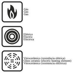 IMAGEM 3: CONJUNTO DE PANELAS TRAMONTINA QUEBEC 5 PEÇAS - REVESTIMENTO STARFLON - PEGADORES EM BAQUELITE E NYLON - PRETO