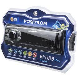 IMAGEM 3: SOM AUTOMOTIVO PÓSITRON SP2210 UB - USB - LEITOR DE CARTÃO - AUXILIAR - MP3 E WMA - PRETO