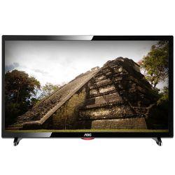 """IMAGEM 1: TV LED 19"""" AOC LE19D1461/20 - RECEPTOR DIGITAL - 2 ENTRADA HDMI - 1 ENTRADA USB - P2 - RESOLUÇÃO HD - PRETA"""