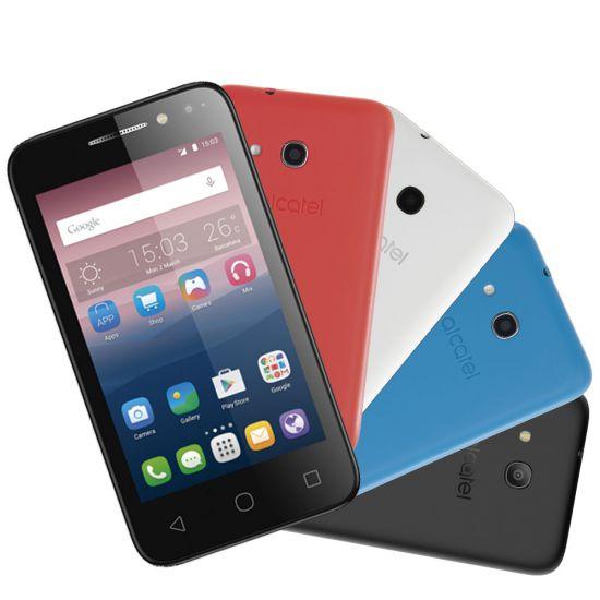 """SMARTPHONE ALCATEL PIXI 4 COLORS - 4"""" - 8GB - 1.3GHZ - PRETO"""