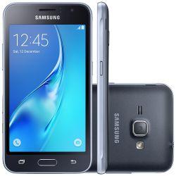 """IMAGEM 1: SMARTPHONE  DESBLOQUEADO SAMSUNG GALAXY J1 MINI - DUAL CHIP - QUAD-CORE 1.2GHZ - INTERNET 3G - WI-FI - CÂMERA DE 5MP - TELA 4"""" -  PRETO"""