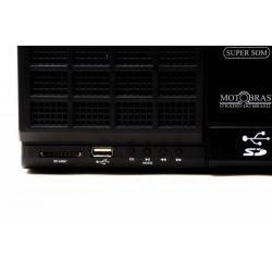 IMAGEM 6: RÁDIO PORTÁTIL RM-PU32 MOTOBRAS 3 FAIXAS FM/OM/OC USB E LEITOR DE CARTÕES
