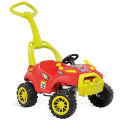 IMAGEM 1: SMART CAR BANDEIRANTE COM PEDAL E HASTE REMOVÍVEL VERMELHO