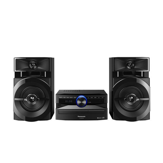 MINI SYSTEM PANASONIC SC-AKX100LBK 250W RMS COM WIRELESS MEDIA E BLUETOOTH
