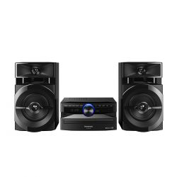 IMAGEM 1: MINI SYSTEM PANASONIC SC-AKX100LBK 250W RMS COM WIRELESS MEDIA E BLUETOOTH
