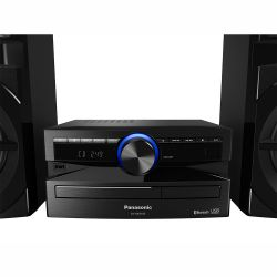 IMAGEM 2: MINI SYSTEM PANASONIC SC-AKX100LBK 250W RMS COM WIRELESS MEDIA E BLUETOOTH