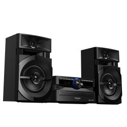 IMAGEM 3: MINI SYSTEM PANASONIC SC-AKX100LBK 250W RMS COM WIRELESS MEDIA E BLUETOOTH