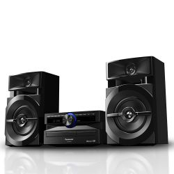 IMAGEM 4: MINI SYSTEM PANASONIC SC-AKX100LBK 250W RMS COM WIRELESS MEDIA E BLUETOOTH