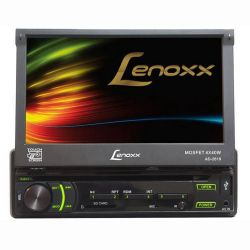 "IMAGEM 1: DVD AUTOMOTIVO LENOXX AD 2619 TELA DE 7"" TOUCH ENTRADA USB AUXILIAR E SD"