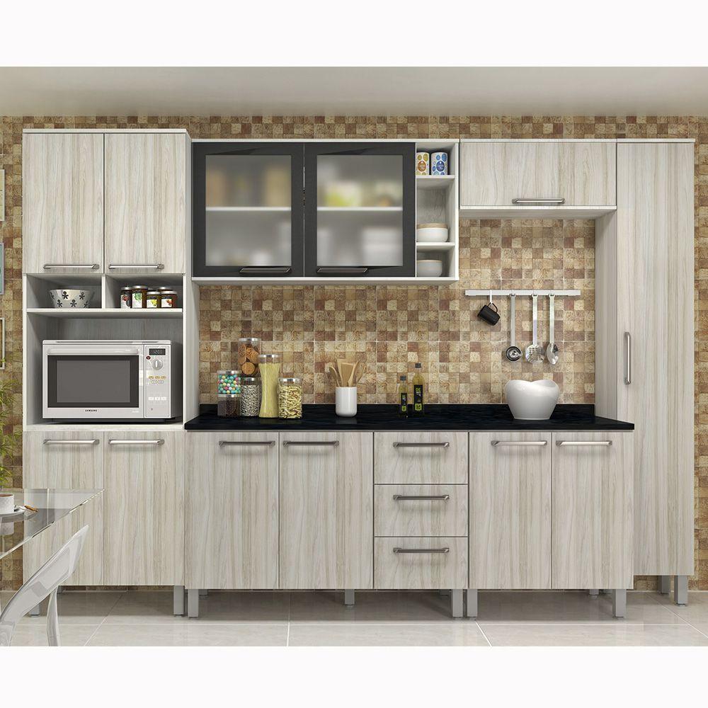 Cozinha De Ao Completa Cozinha Completa Com Balco E Tampo Peas