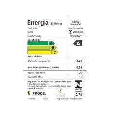 IMAGEM 4: MICRO-ONDAS ELECTROLUX MTD30 COM 20 LITROS E 10 NÍVEIS DE POTÊNCIA