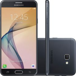 """IMAGEM 1: SMARTPHONE SAMSUNG J7 PRIME DUAL CHIP 4G CÂMERA 13MP E TELA 5.5"""" - PRETO"""