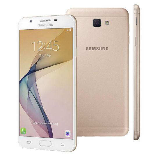 """SMARTPHONE SAMSUNG J7 PRIME DUAL CHIP 4G CÃMERA 13MP E TELA 5.5"""" - DOURADO"""
