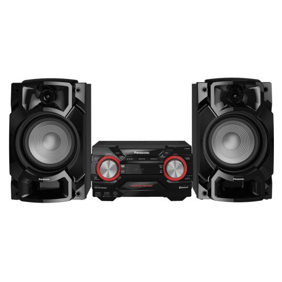 MINI SYSTEM PANASONIC SC-AKX4400LBK - 580W RMS - WIRELESS MEDIA