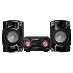 IMAGEM 1: MINI SYSTEM PANASONIC SC-AKX4400LBK - 580W RMS - WIRELESS MEDIA