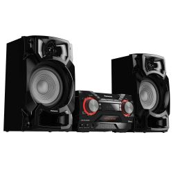 IMAGEM 4: MINI SYSTEM PANASONIC SC-AKX4400LBK - 580W RMS - WIRELESS MEDIA