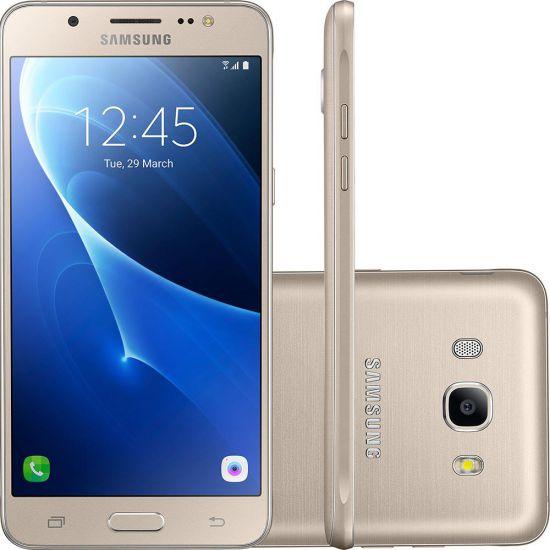 SMARTPHONE SAMSUNG GALAXY J5 METAL QUAD-CORE 16GB 4G - DOURADO