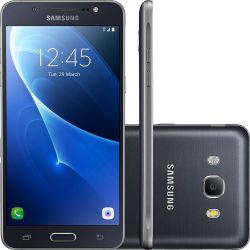 IMAGEM 1: SMARTPHONE SAMSUNG GALAXY J5 METAL QUAD-CORE 16GB 4G - PRETO