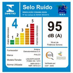 IMAGEM 7: LIQUIDIFICADOR PHILCO PH900 12 VELOCIDADES COM FILTRO 1000W - VERMELHO