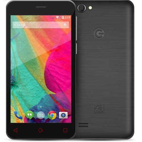 """SMARTPHONE LOGIC X5 LITE 5"""" DUAL CHIP WI-FI 3G CÂMERA DE 5MP - PRETO"""