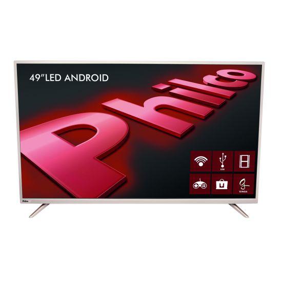 "SMART TV LED PHILCO 49"" PH49F30DSGWAC FULLHD COM ANDROID"