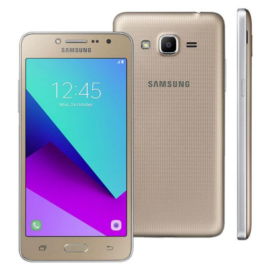SMARTPHONE SAMSUNG GALAXY J2 PRIME - TV DIGITAL - WI-FI - 4G - 16GB - DOURADO