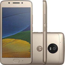 IMAGEM 2: SMARTPHONE MOTOROLA MOTO G5 DUAL CHIP 32GB 4G ANDROID 7 BIOMETRIA - OURO
