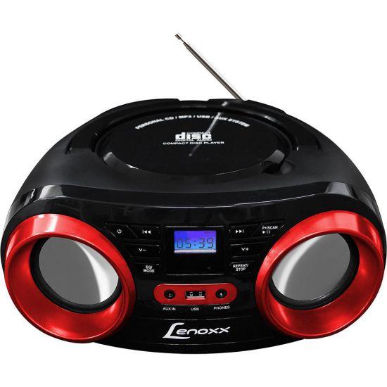RÁDIO LENOXX BD129 COM CD PLAYER FM ENTRADA USB E AUXILIAR