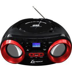 IMAGEM 1: RÁDIO LENOXX BD129 COM CD PLAYER FM ENTRADA USB E AUXILIAR