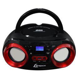 IMAGEM 2: RÁDIO LENOXX BD129 COM CD PLAYER FM ENTRADA USB E AUXILIAR