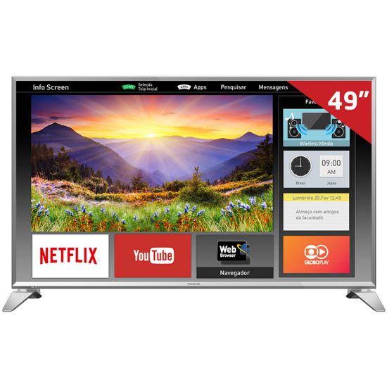 "SMART TV PANASONIC 49"" TC-49ES630B WI-FI FULL HD NETFLIX E YOUTUBE"