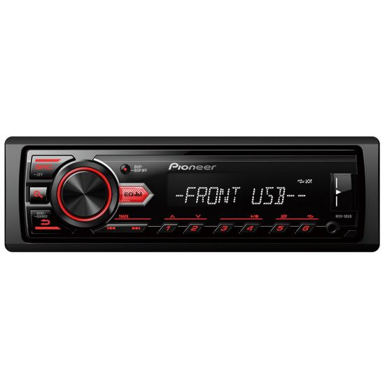 SOM AUTOMOTIVO PIONEER MVH-98UB MEDIA RECEIVER USB E AUXILIAR INTERFACE PARA ANDROID