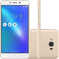 """IMAGEM 1: SMARTPHONE ASUS ZENFONE 3 MAX 5.2"""" QUAD-CORE 16GB 4.100MAH E 4G - DOURADO"""