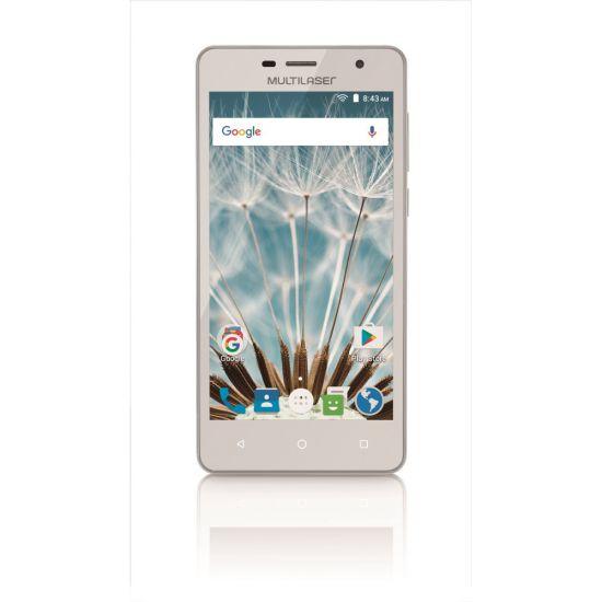 SMARTPHONE MULTILASER M50S COLORS COM PROCESSADOR QUAD-CORE + MICRO SD 16GB - BRANCO
