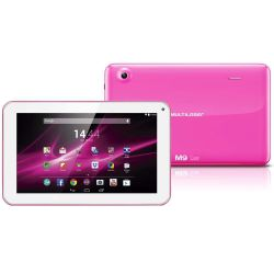 IMAGEM 2: TABLET MULTILASER M9 3G QUAD CORE 8GB WI-FI - ROSA