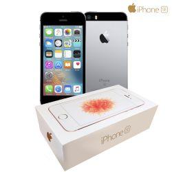IMAGEM 3: IPHONE SE CINZA ESPACIAL 32 GB IOS10 APPLE CÂMERA 12MP FILMA EM 4K
