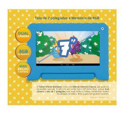 IMAGEM 6: TABLET MULTILASER GALINHA PINTADINHA WI FI 8GB TELA DE 7 POLEGADAS