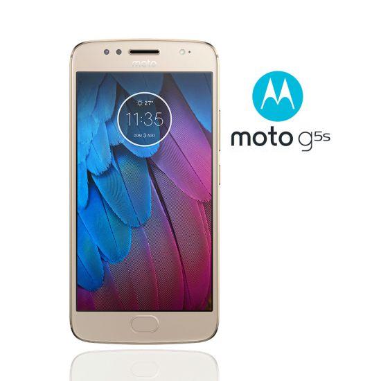 SMARTPHONE MOTOROLA MOTO G5S OURO 32GB DE ARMAZENAMENTO CÂMERA DE 16MP