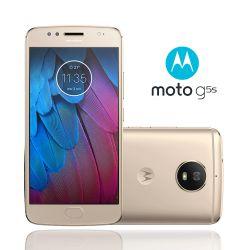 IMAGEM 2: SMARTPHONE MOTOROLA MOTO G5S OURO 32GB DE ARMAZENAMENTO CÂMERA DE 16MP
