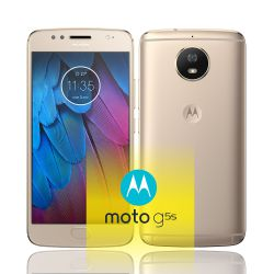 IMAGEM 3: SMARTPHONE MOTOROLA MOTO G5S OURO 32GB DE ARMAZENAMENTO CÂMERA DE 16MP