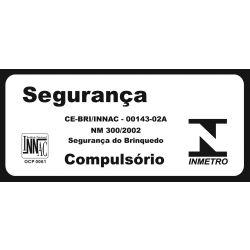 IMAGEM 11: CARRO ELÉTRICO BANDEIRANTE 2624 MERCEDES GLA DE 12V COM CONTROLE REMOTO