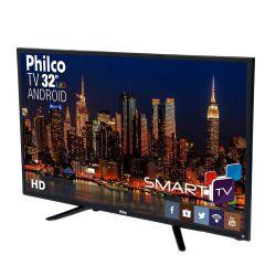 "IMAGEM 3: SMART TV LED 32"" PHILCO PH32B51DSGWA HDMI COM ANDROID"
