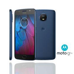 IMAGEM 1: SMARTPHONE MOTOROLA MOTO G5S AZUL SAFIRA 32GB DE ARMAZENAMENTO CÂMERA DE 16MP