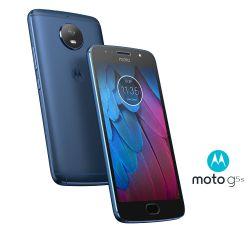 IMAGEM 3: SMARTPHONE MOTOROLA MOTO G5S AZUL SAFIRA 32GB DE ARMAZENAMENTO CÂMERA DE 16MP