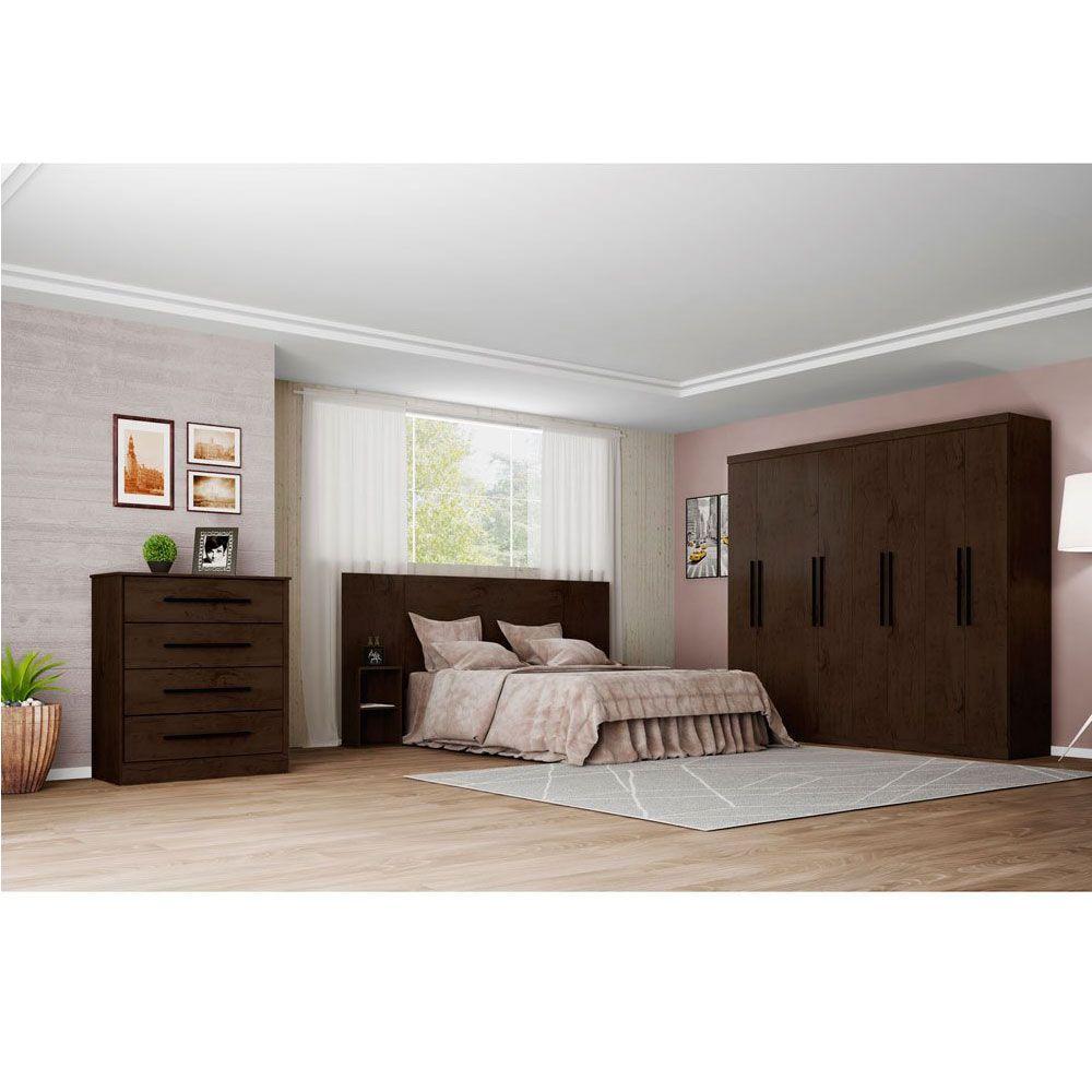 c moda araplac prime 4000 com 4 gavetas 109 x 96 cm imbuia j mahfuz. Black Bedroom Furniture Sets. Home Design Ideas