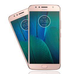 IMAGEM 1: SMARTPHONE MOTOROLA MOTO G5S PLUS OURO ROSE 32GB DUPLA CÂMERA 13MP
